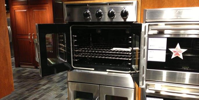 american range wall oven display yale 2013