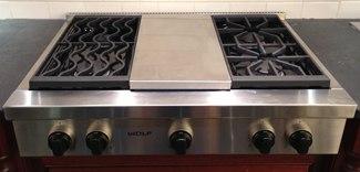 pro rangetop gas cooktop