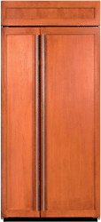 subzero side by side refrigerator BI36SO