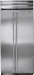 subzero side by side refrigerator BI36SSTH