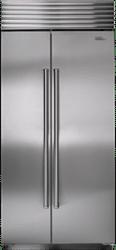 subzero side by side refrigerator BI36SSPH