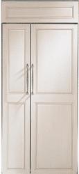ge monogram side by side refrigerator ZIS360NX