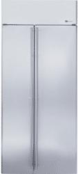 ge monogram side by side refrigerator ZISS360NXSS