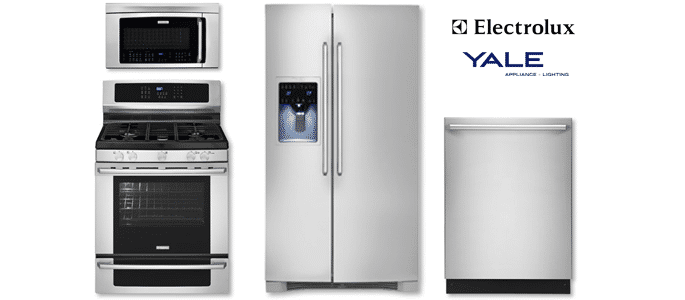 Charmant Electrolux Freestanding Range Package 713