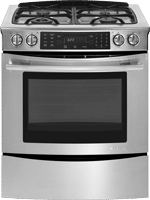 jennair JGS8850CDS gas slidein convection range