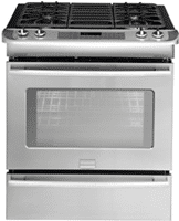 frigidaire FPGS3085KF gas slidein convection range