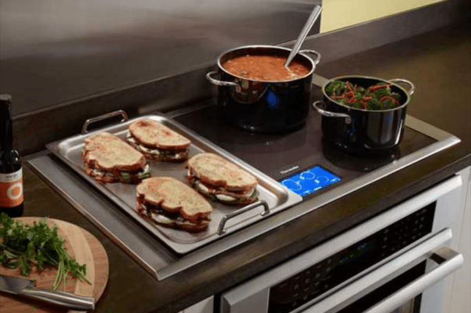 thermador freedom cooktop flexibility