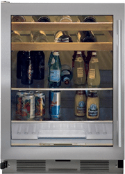 subzero undercounter beverage center UC24BGS