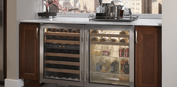 Attrayant Subzero Undercounter Refrigeration Installed
