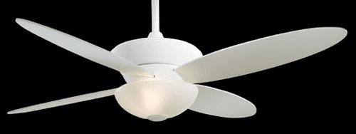 minka aire zen ceiling fan F514WH