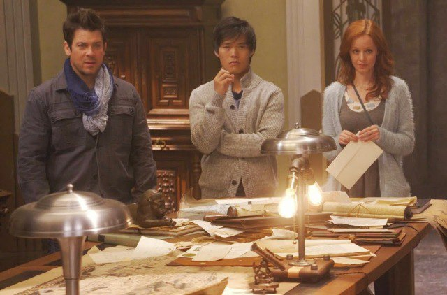 thelibrarians-tv-set