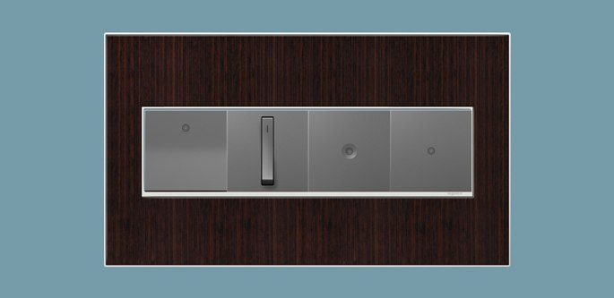 legrand switches dimmers 4 gang