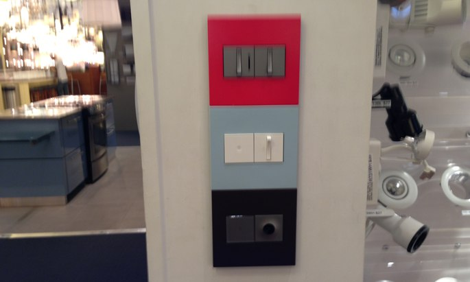 legrand switches dimmers 3 sets