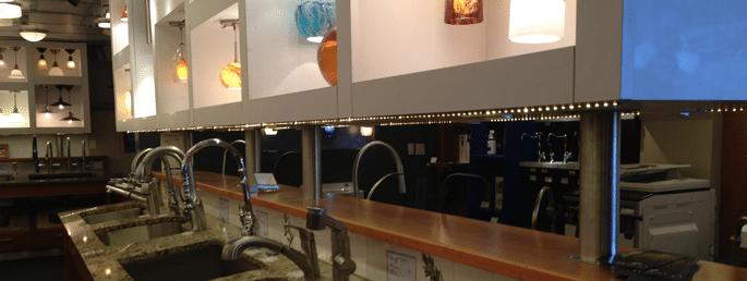 Led tape vs led pucks for under cabinet lighting reviewsratings led tape under cabinet install aloadofball Images