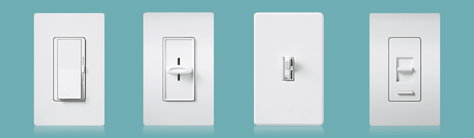 lutron dimmer switch samples