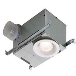 broad recessed light exhaust fan