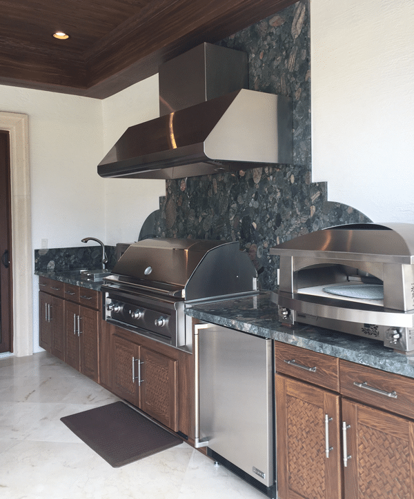 Outdoor Kitchens Lithia Fl: Designing An Outdoor Grill Kitchen With Pizza Oven And