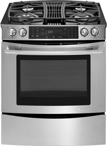 jennair downdraft gas range JGS9900CDS