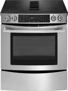 jennair downdraft electric range JES9800CAS
