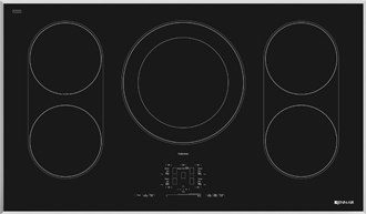 jennair 36 inch black induction cooktop JIC4536XS