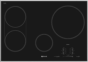 jennair 30 inch black induction cooktop JIC4430XS