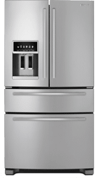 jennair double drawer refrigerator JFX2597AEM