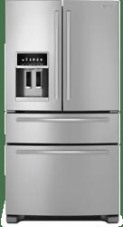 Ge Vs Jennair Double Drawer French Door Refrigerators