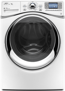 whirlpool front load washer WFW96HEYW