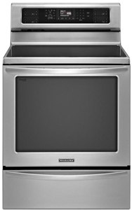 kitchenaid stainless induction range KIRS608BSS