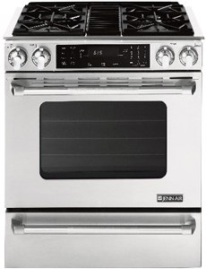 jennair slidein gas range JGS8860BDP