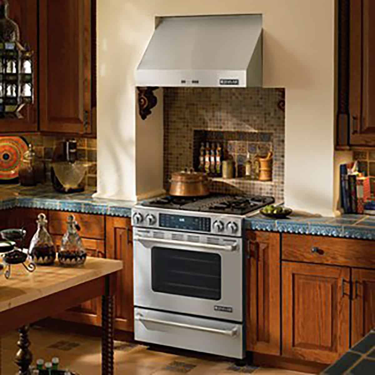 Charming Jennair Slidein Installed JGS8860BDP KitchenAid ...