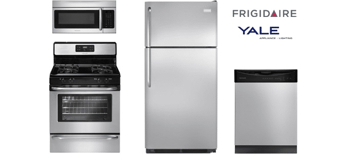 frigidaire stainless upgrade kitchen package