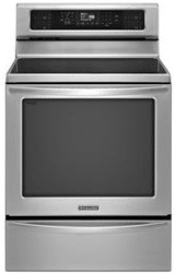 kitchenaid induction range KIRS608BSS