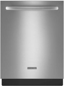 kitchenaid dishwasher stainless steel handle KUDS35FXSS