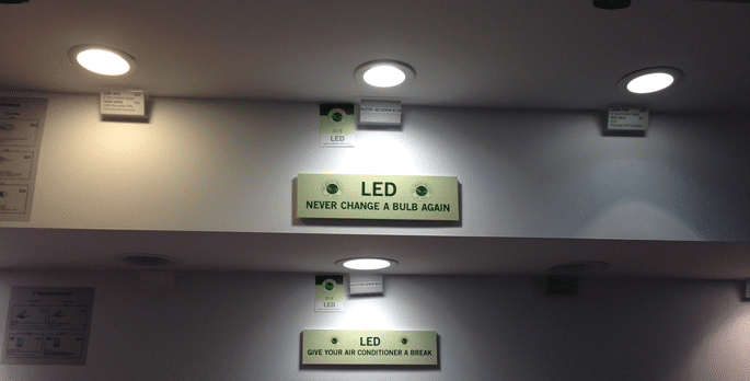 recessed lighting display may 2013