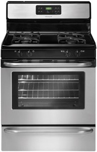 frigidaire stainless 30 inch gas range FFGF3053LS