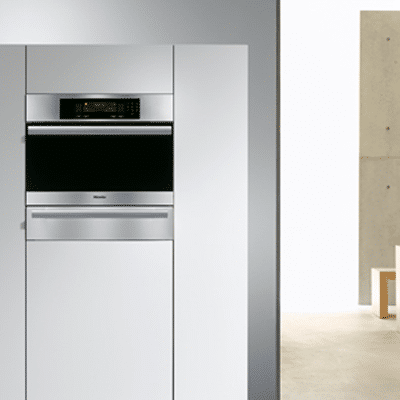 miele steam wall oven DG4084 installed