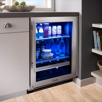 Merveilleux True Refrigerator Installed Blue Led Lighting