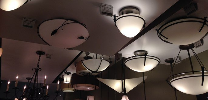 hubbardton forge flush mount display 102013