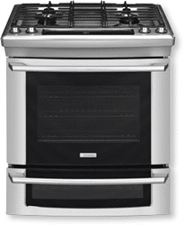 electrolux gas slidein range stainless EW30DS65GS