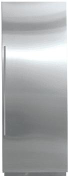 subzero integrated refrigerator column IC27R
