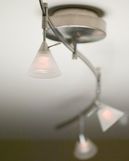 tiella stainless track lighting kit