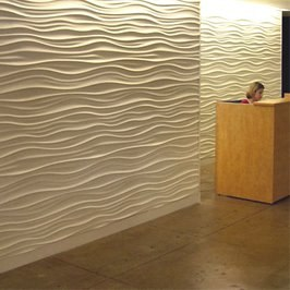 textured wall wallwashing
