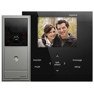 legrand wireless intercom kit monitor