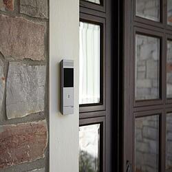 legrand wireless intercom kit camera installed