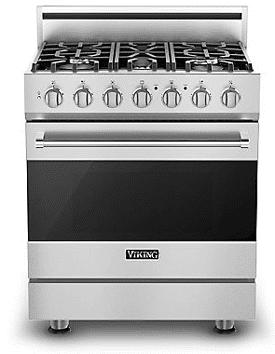 viking 30 inch professional range RVGR3305BSS