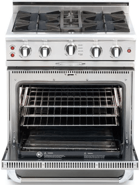 capital culinarian 30 inch professional range CGSR304N