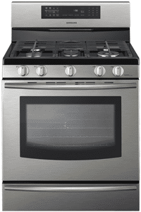 samsung most powerful gas freestanding range FX710BGS