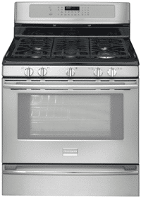 frigidaire most powerful gas freestanding range FPGF3081KF