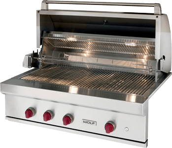 Viking vs wolf professional gas bbqs reviews ratings prices for Viking professional outdoor grill
